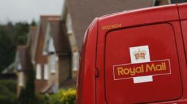 Royal Mail van