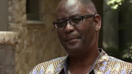 Suspended head of the Congress of South African Trade Unions (Cosatu) Zwelinzima Vavi