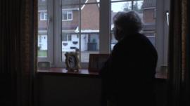 Kathleen Yeoman standing by a window