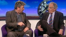 David Aaronovitch and Peter Bone