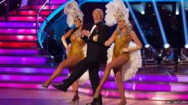 Bruce Forsyth on Strictly Come Dancing