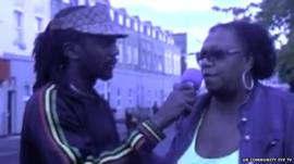 Pauline Pearce interview on TV after Hackney riot