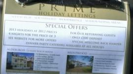 Prime Holiday Lettings brochure