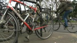 Bicycles in Oxford