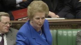 Margaret Thatcher says
