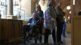Visitors in Oxfordshire