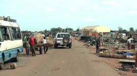 UN convoy makes way through Bentiu