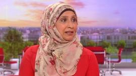 Mussurut Zia from the Muslim Women's Network UK