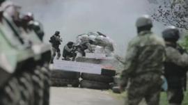 Military exercises