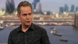 Actor Tom Hollander
