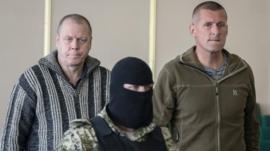 Detained international observers