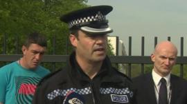 Chief Superintendent Paul Murray, West Yorkshire Police