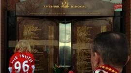 Anfield Hillsborough memorial