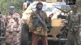 Still from Boko Haram video