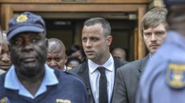 South African athlete Oscar Pistorius