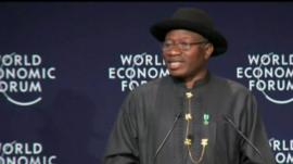 Goodluck Jonathan at World Economic Forum