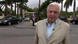 John Simpson in Abuja