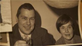Joachim Neumann and girlfriend Christa