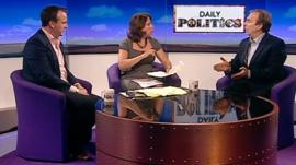 Matt Forde, Jo Coburn and Peter Hitchens
