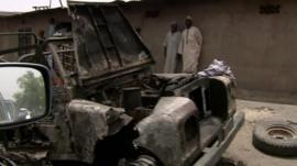 Aftermath of Boko Haram attack