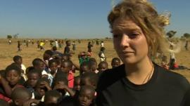 Alice Pulford, from Rothley, Leicestershire, set-up the charity LoveTilinanu project in south-eastern Africa
