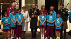 Queen's baton celebrations in the Channel Islands