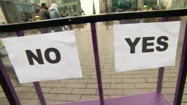 Daily Politics mood box in Birmingham