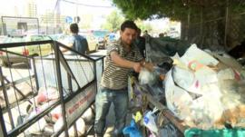 Mahmoud and his rubbish