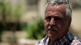 Abu Khalil al-Laham, a community leader at the Dheisha Refugee Camp in Bethlehem.