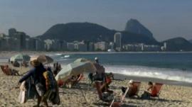 Rio de Janeiro beach, Brazil