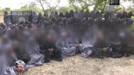 Still from Boko Haram footage