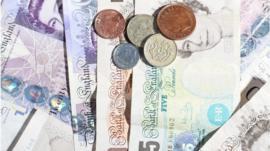 British coins and bank notes