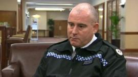 Gwent Police Assistant Chief Constable Chris Armitt