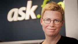 Liva Biseniece said the social network lets users 'explore important issues'