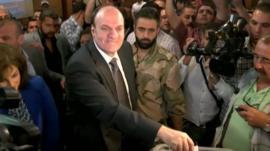 Syria presidential candidate, Hassan al-Nouri