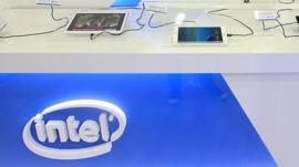 Intel stand, Computex