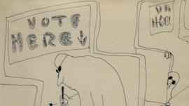 A John Lennon sketch