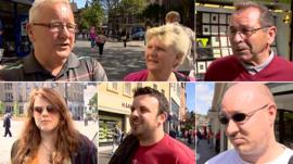 Voters in Dundee