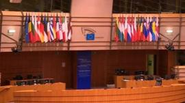 Inside the European Parliament