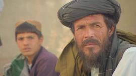 Voters in Afghanistan