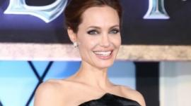 Angelina Jolie at the Japanese premiere if Maleficent