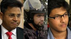 three potential Indian billionaires