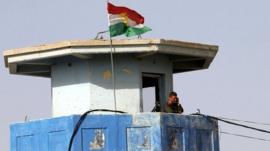 Kurdish watchtower