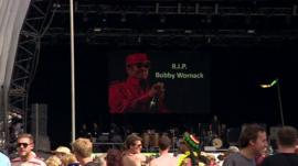 Tribute to Bobby Womack at Glastonbury