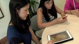 Nanyang Technological University students at play