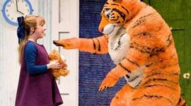 A scene from The Tiger Who Came to Tea
