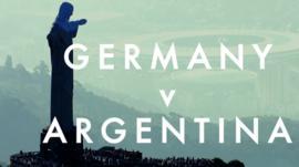 World Cup final - Germany v Argentina