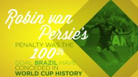 World Cup 2014: Day 31 in numbers