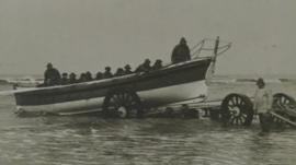 Archive picture of Blackpool lifeboat