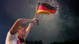 Celebration in Berlin